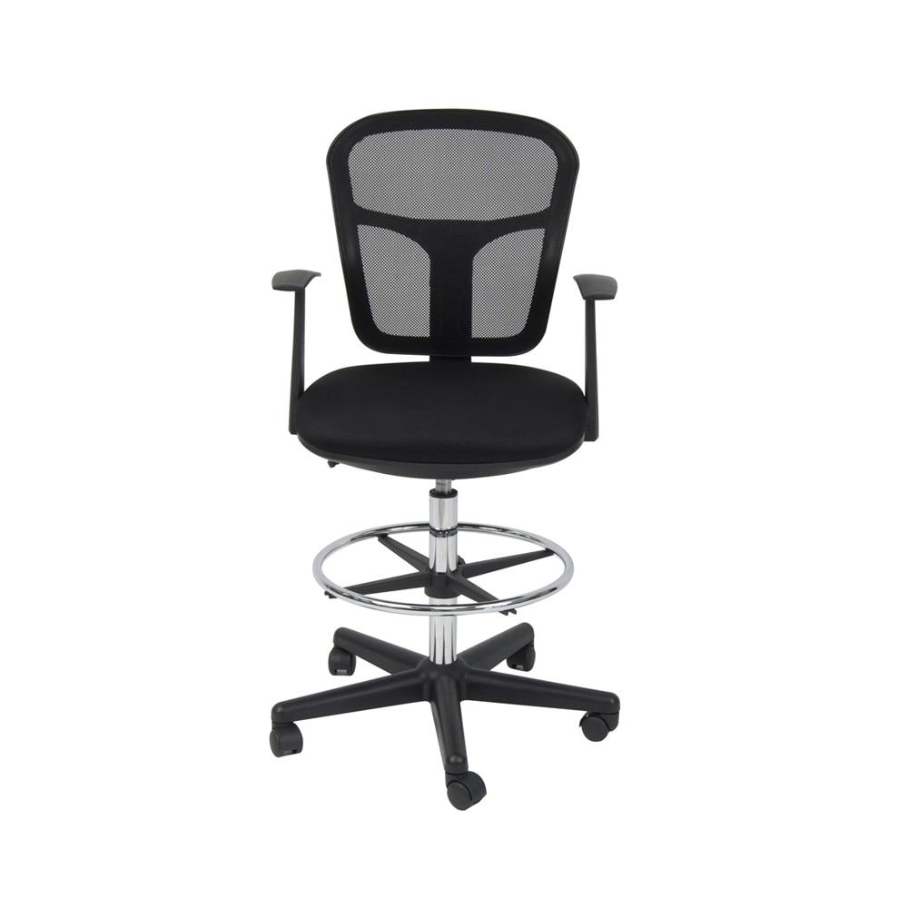 Studio Designs Home Office Riviera Drafting Chair - Black