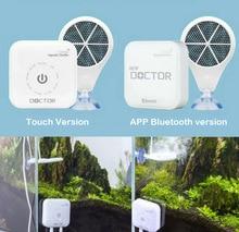Управление через приложение по Bluetooth, 3 й чип, докторская лампа, электронный ингибитор зеленого аквариума, рыбы, креветки, очистка воды