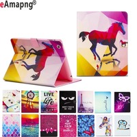 Patterned Case For Apple IPad Mini 1 2 3 7 9 Inch TPU Soft Cover Magnetic
