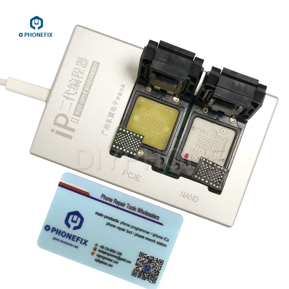 US $289 99 |PHONEFIX IP BOX 2th High Speed Programmer PCIE NAND Flash  Programmer for iPhone 5 5S 6 6P 6S 6SP 7 7P iPad2 Mini 4 Pro Repair-in Hand  Tool