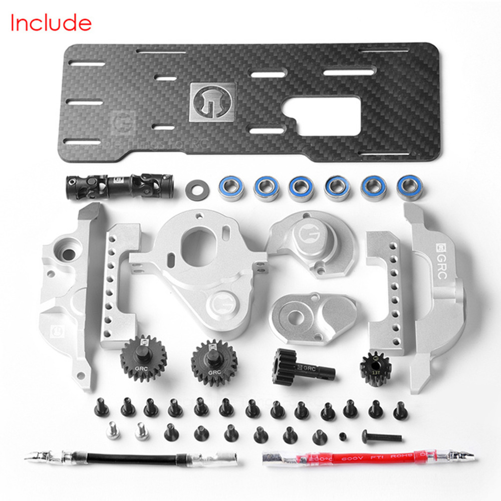 Motor Pre gear Box Front Electric Motor Kit for T4 Front mounted Simulation V8 engine for