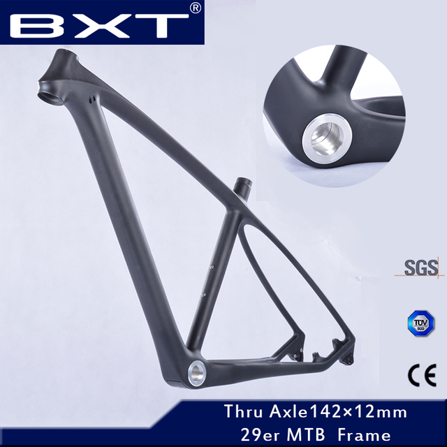 Cheap 2016 T800 carbon mtb frame 29er/27.5er mtb carbon frame 650B 27.5/ 29 carbon mountain bike frame 142*12 or 135*9mm bicycle frame