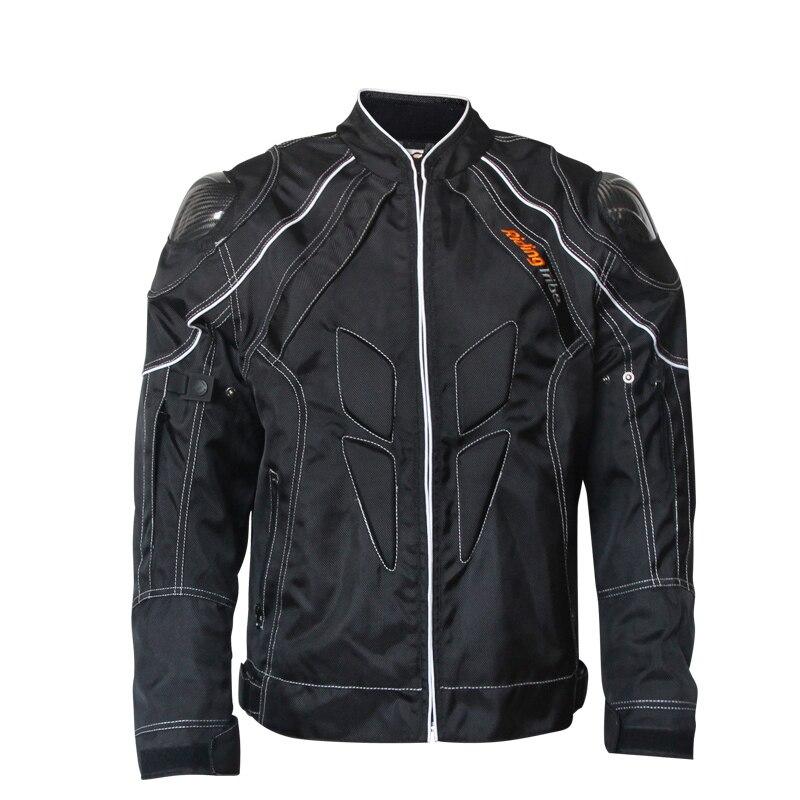 Veste de Moto d'hiver vêtements de protection pour hommes veste d'équitation Motos Armor Chaqueta Moto en Fiber de carbone épaule Motocross vestes