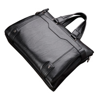 2018 Black Brown Split Leather Crossbody Bag Mens Handbag Brand Business Laptop Bags Male Messenger Shoulder