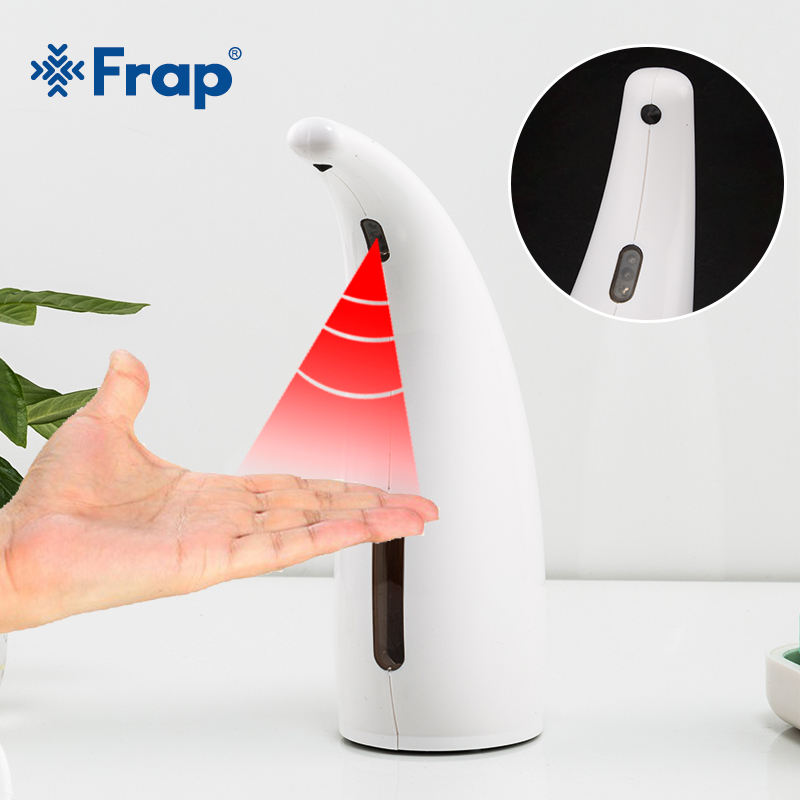 FRAP 300ML Automatic Induction Foam Soap Dispenser Waterproof Washable Resistant To Infrared Rays Touch-Free Operation