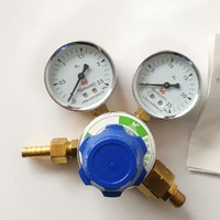 Meter Control Valve Welding Regulato Welding Weld Gauge Argon Regulator Pressure Reducer Hydrogen Meter Hot