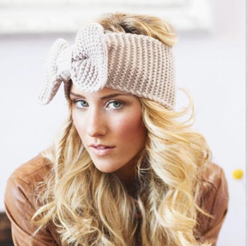 New Ear Wool Winter Headband for Woman Girl Hairs