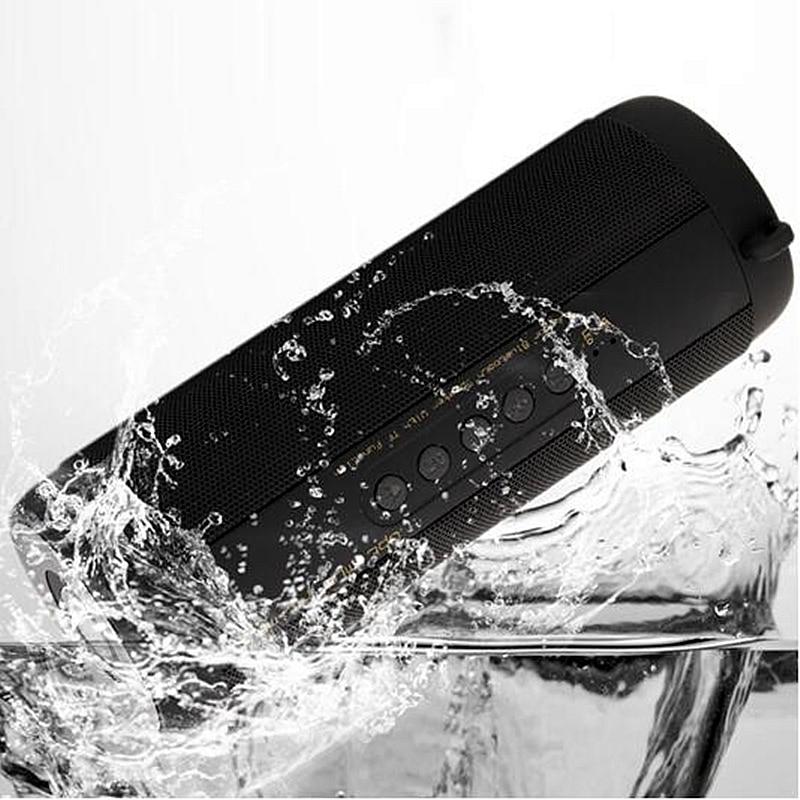 T2 MP3 открытый мини Водонепроницаемый Беспроводной Bluetooth Динамик сабвуфер Портативный Многофункциональный Bluetooth приемник для мобильного телефона
