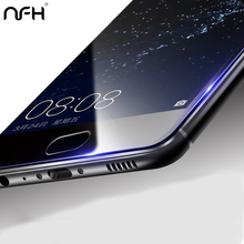NFH Huawei P10 2.5D Screen Protector 3D edge full cover Tempered Glass For Huawei P10 Lite P10 Plus Seamless covering Anti Glare