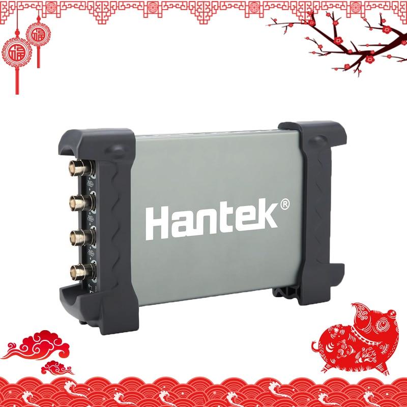 Nouvelle Arrivée Hantek 6104BC PC USB Oscilloscope Bande Passante 100 MHz 4 Indépendant Analogique Canaux 2 mV-10 V/ DIV Sensibilité D'entrée