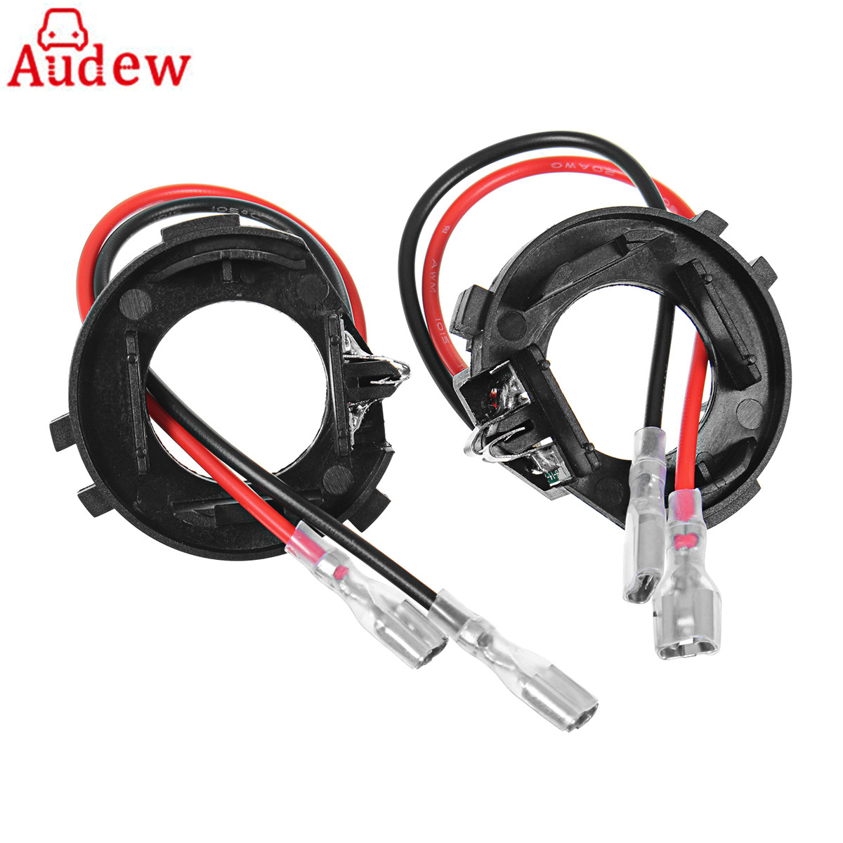 2Pcs H7 Car Headlight Bulbs Holder Adapter Base For VW Golf 7 / New Touran auto H7 Fort Headlamp LED socket Holder stents fstuning h7 led bulbs canbus led headlight no error for golf mk5 with h7 bulb holders adapters base for volkswagen golf 5 jetta