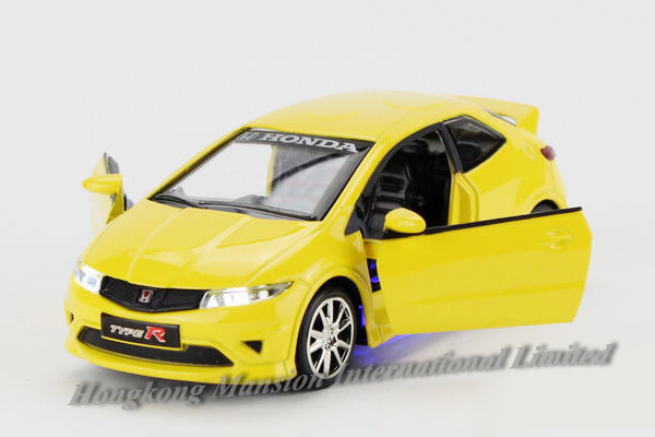 1 32 Scale Diecast Alloy Metal Car Model For Honda Civic Type R