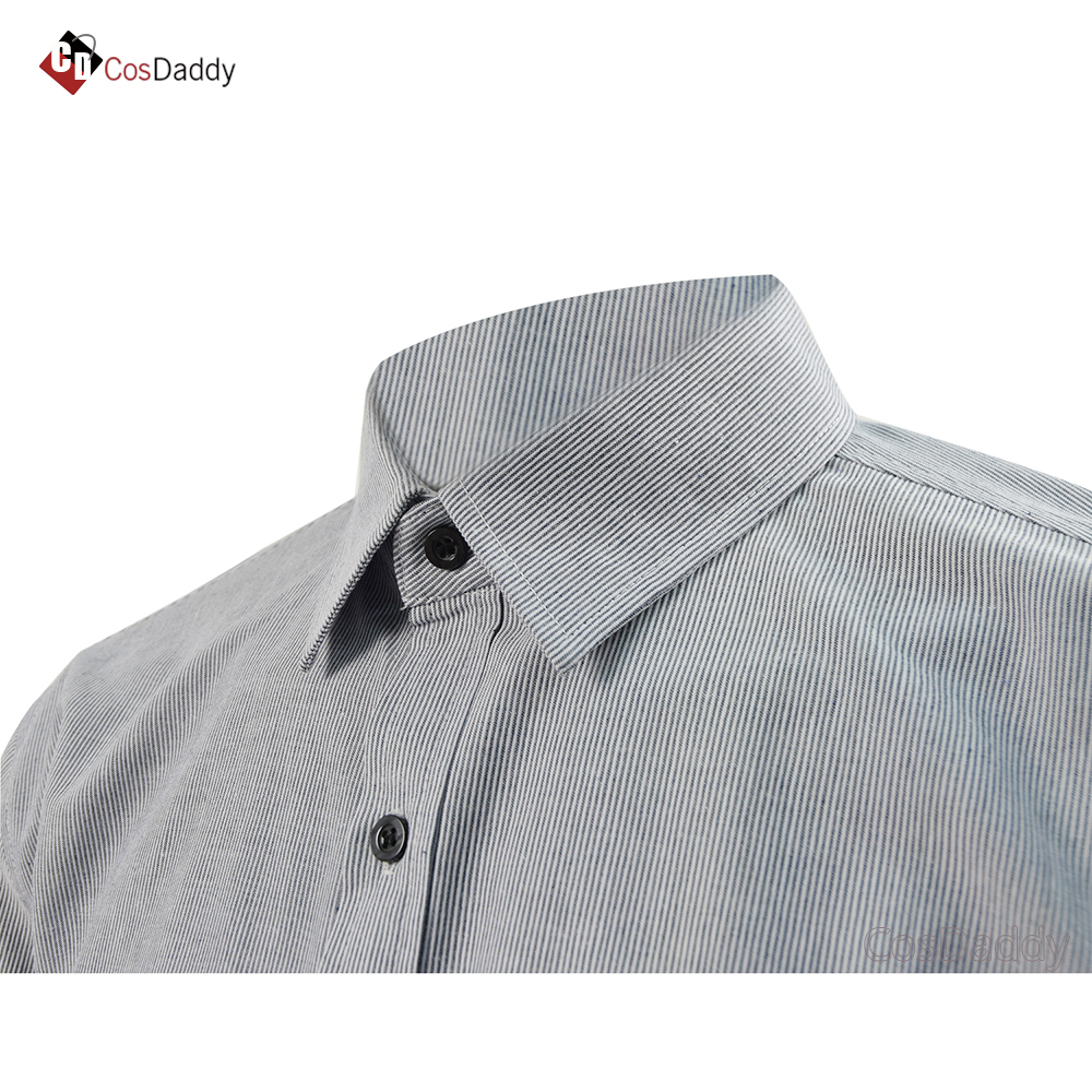 The Shawshank Redemption Cosplay costume Andy Dufresne shirt top t shirt Classic Movie same clothes Shirts CosDaddy in Movie TV costumes from Novelty Special Use