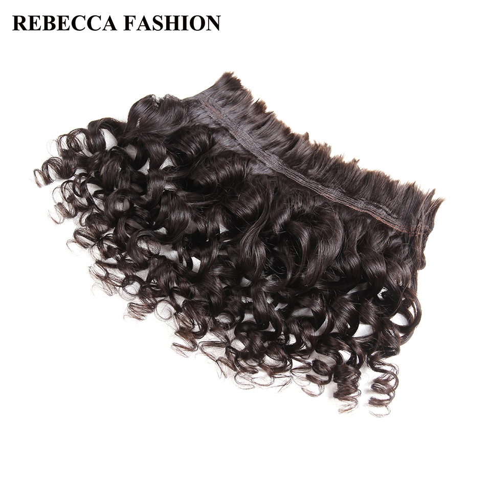 Rebecca Human Braiding Hair Bulk Hair For Braiding Remy Peruvian Loose Wave Hair Bulk 4 Bundles Extensions Free Shipping