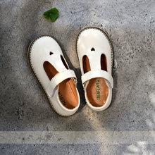 Летние туфли из натуральной кожи Повседневная детская обувь