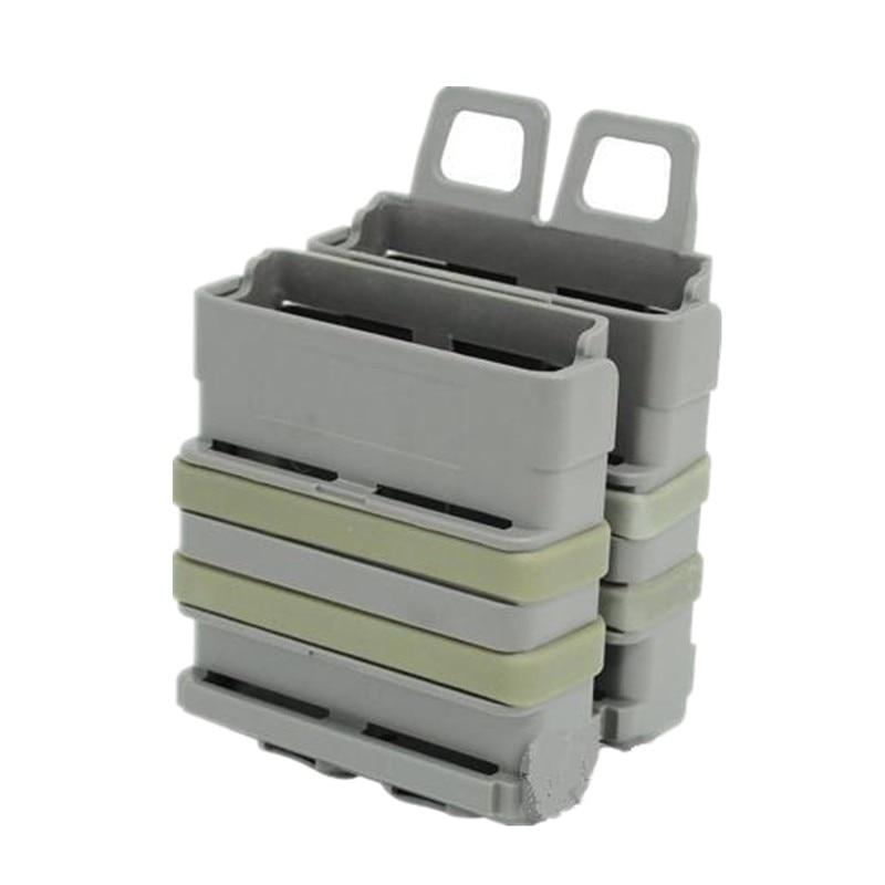 Taktische schwere 7.62 Magazintasche Militärsport FastMag FOR M4 MAG BK (7.62) Schweres Schwarz DE FG