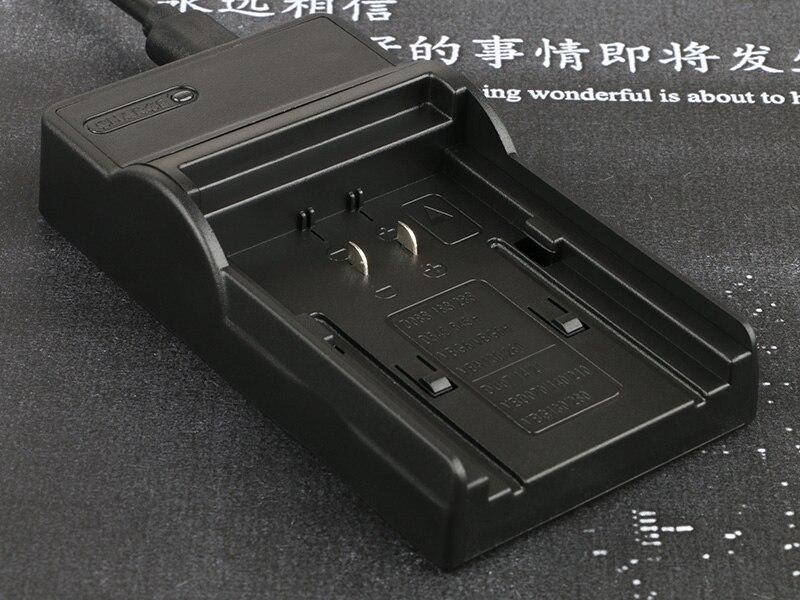מצלמה דיגיטלי סוללה + מטען נטענת עבור Panasonic VW-VBG130 LANFULANG