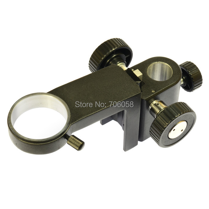 Hevey Diameter DIA 50mm Adjustable Monocular Gear Zoom Video Microscope Stand Part Holder Support Ring