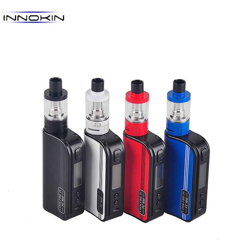 Original INNOKIN Coolfire IV TC 100 Kit With Cool Fire IV TC100w 3300mah Battery Mod Aethon Chipset 3ml iSub V Tank E-Cigarettes new original innokin mvp4 qc 100w tc box mod battery 4500mah mvp4 mod by aethon microchip for isub v tank e cigarette 510