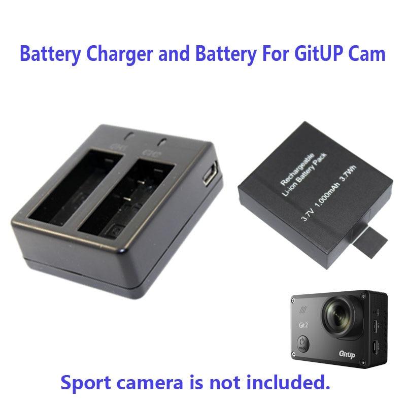Free Shipping 1000mAh or 950mAh Backup Rechargable Li on Battery For GitUP Git2 Sport font b