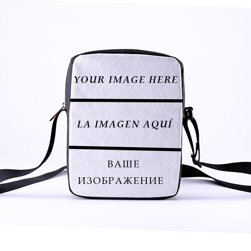 Customized Ladies Shoulder Bag DIY Photo Printing Messenger Bag Fashion Canvas Handbag Children's Shoulder Bag Leisure 23cm*17cm