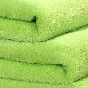 Image 5 - Big Size Super Zacht Bed Deken Fleece Solid Pure Kleur Roze Deken Plaids Spreien Gooi Voor Bed Gift