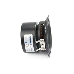 Image 3 - AIYIMA 2 قطعة 2.5 بوصة كامل تردد باس المتكلم الصوت باس وحدة مكبر الصوت مجموعة كاملة Hifi مكبر الصوت الصوت سماعات صغيرة 4Ohm 15 واط