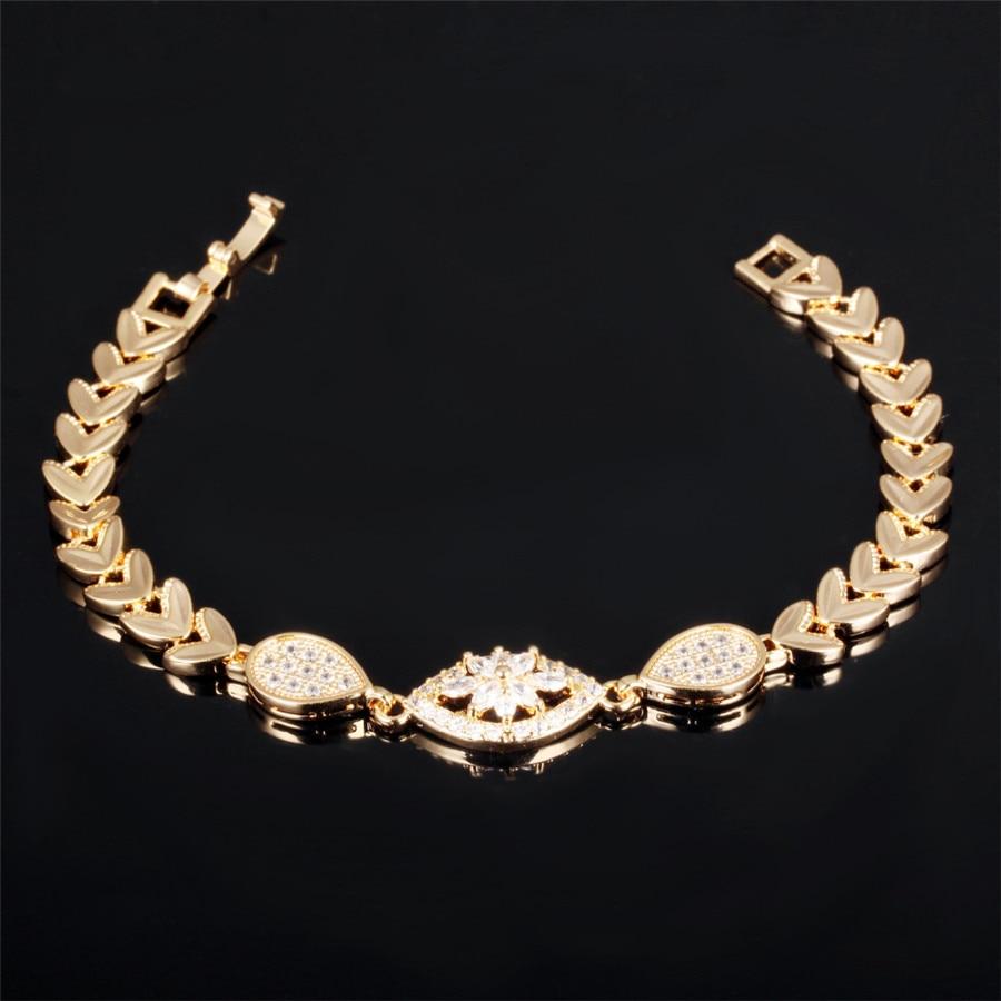 ddae54154b3b Mecresh lujo cubic zirconia Juegos de joyería para novia lágrima collar de  la boda del partido