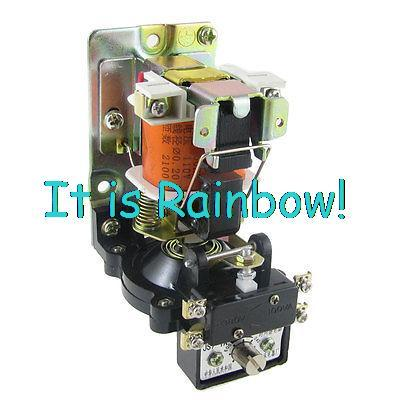 Free Shipping JS7-1A 1NO 1NC AC 110V 0.4-60S Second Timing Delay Relay