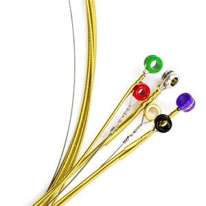Image 5 - Orphee cordes de guitare acoustique, noyau Hexagonal, entièrement 8% nickel, ton brillant en Bronze, lumière Extra légère, 1 jeu, offre spéciale
