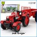Mr. Froger Modo Tractor modelos de automóviles de aleación de metal Refinado regalo vehículos Agrícolas Granja camión Decoración Juguetes Clásicos diy KDW coches