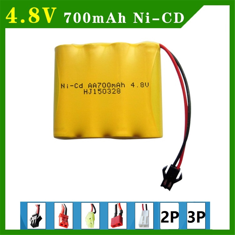 4.8V 700mAh Remote Control Toys Electric toy security facilities electric toy AA battery Ni-CD battery group free shipping 1pcs ewellsold 2pcs lot 4 8v 700mah ni cd aa battery for rc car