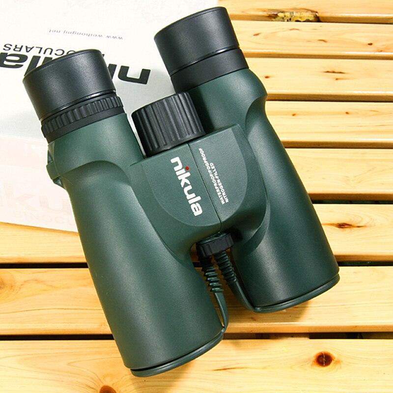 Nikula HD Fernglas 10x42 Lll Nachtsicht Teleskop Wasserdicht Stickstoff-gefüllt Zentral Zoom Teleskop Fernglas Hohe Qualität