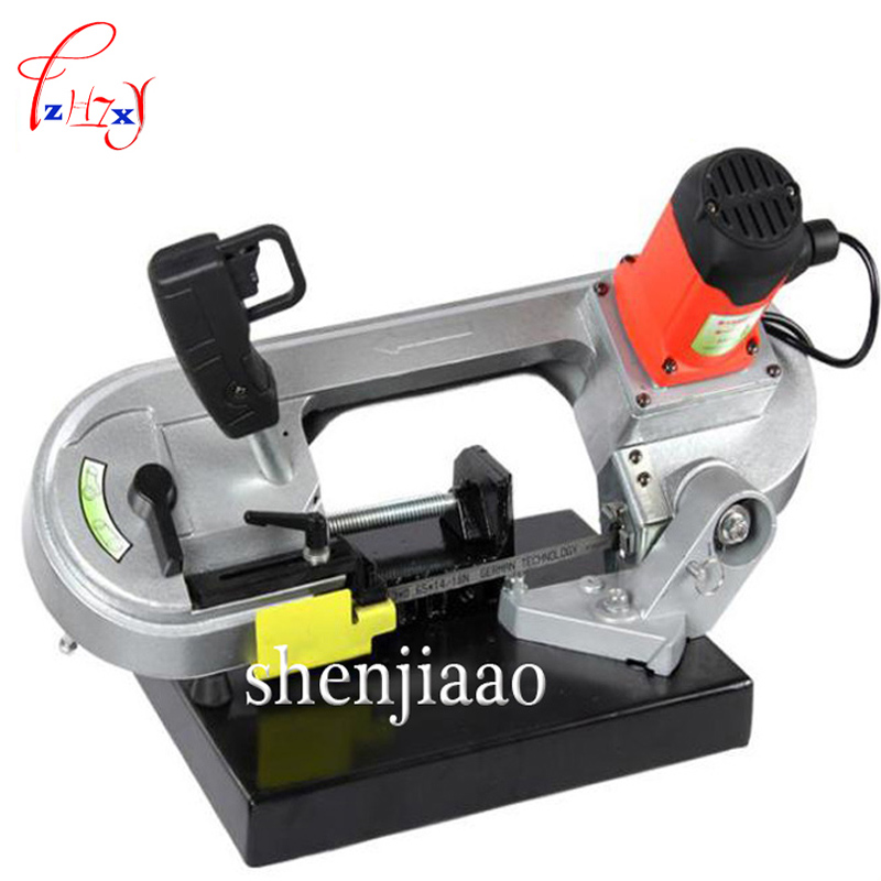 100/220V 680W metal band saw woodworking tape saw/ DLY 100 electricity saw cutting machine power tools