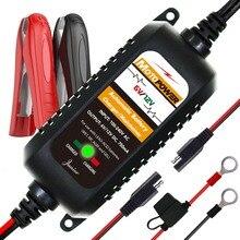 MOTOPOWER 6 V 12 V 750mA Completamente Automatico Caricabatterie Intelligente Della Batteria Maintainer per Auto Moto tutti i tipi di piombo acido batterie