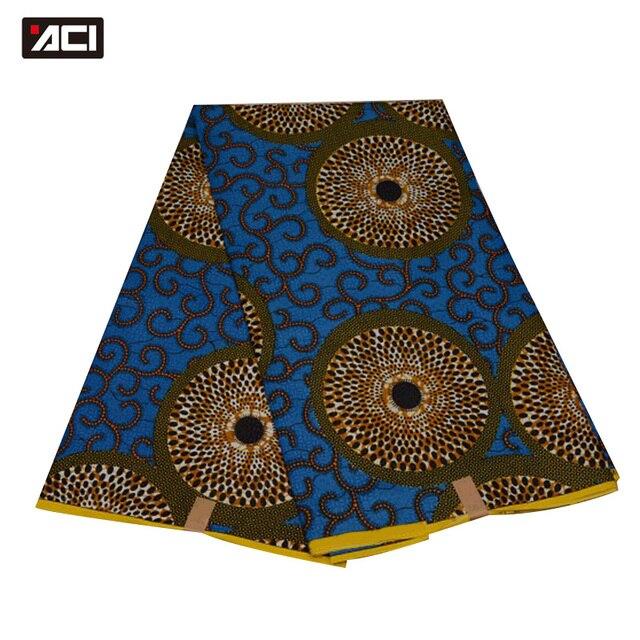 ACI Free Shipping ! Best Selling Ankara African Wax Print Fabric,Dutch Wax Fabric African Real Wax Prints Fabric Hollandais Wax 2