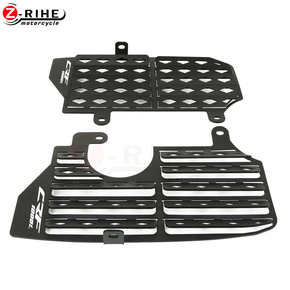 Motorcycle Radiator Grille Guard Cover Protector For Honda CRF1000L Africa Twin 2016 2019 2018 Motorcycle Accessorie CRF1000L in Covers Ornamental Mouldings from Automobiles Motorcycles