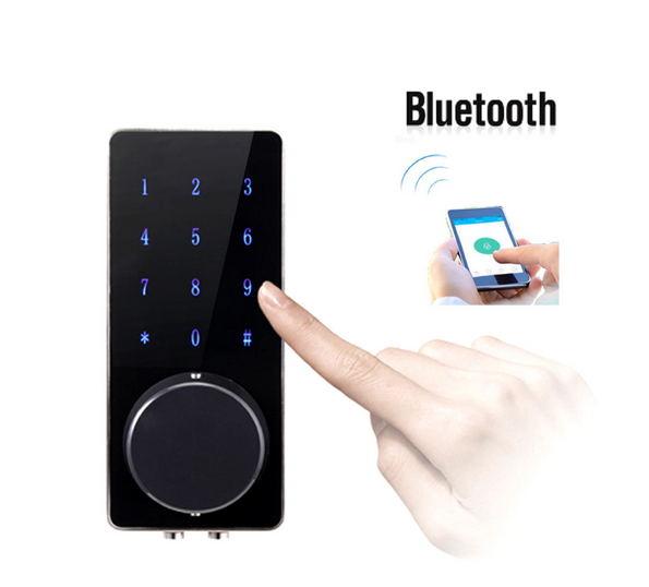 Smartphone Smart Bluetooth Keypad Door Lock office home Apartment Electronic door lock bluetooth smart electronic door lock keypad mortise door lock for home airbnb house or apartment with app remote control