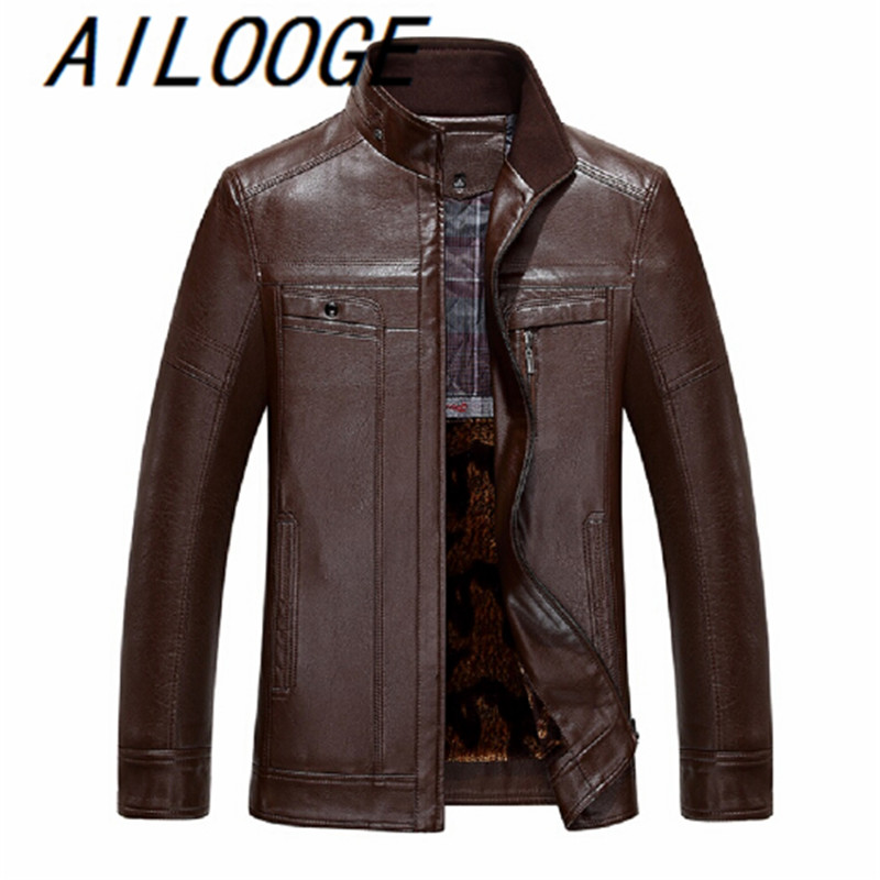 New Style Men's Fashion Jackets And Coats Waterproof Men's Jacket PU Leather Hot Brand Men Jacket Motorcycle Outwear