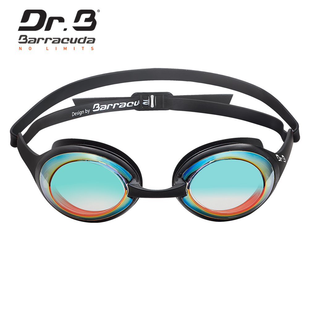 c1a48ea124 Barracuda Dr.B Optical Swimming Goggles DRB941 Patented TriFusion System  Gaskets Mirror Corrective Lenses UV Protection  94190