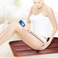 Electric Hip Massager Home Office Chair Massage Pad Multi functional Car Buttocks Vibration Heating Massage Cushion