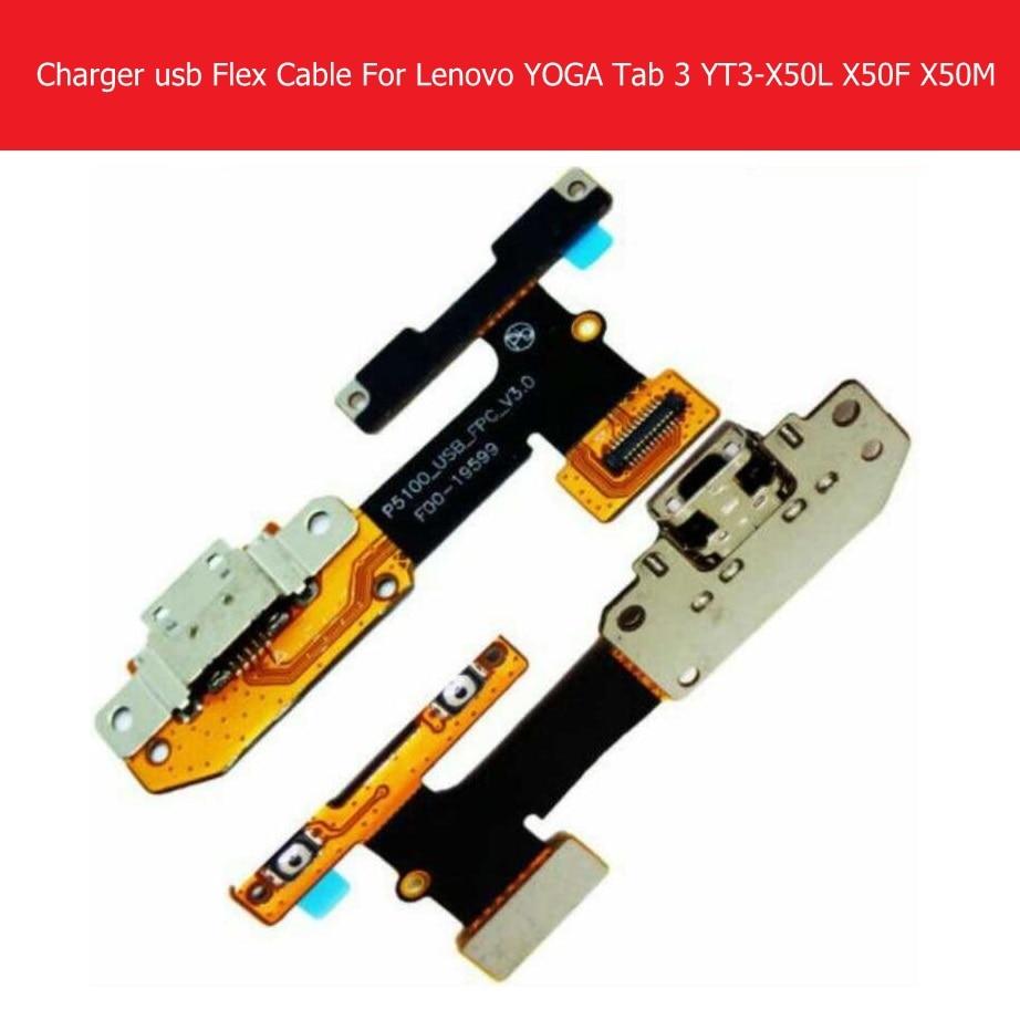 Original USB Charging Flex Cable For Lenovo Yoga tab 3 YT3-X50M YT3-X50L YT-X50F p5100 USB Charger Flex Cable p5100_USB_FPC_v3.0
