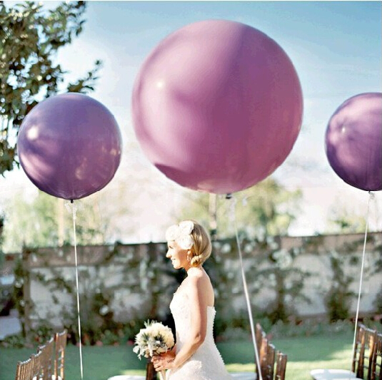 1Pcs 18inch  45cm Giant latex  balloon for  party supplies bouquets game festival birthday wedding party  decoration