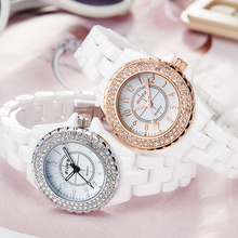 BIDEN Luxury Ladies White Watches Gold Silver Diamond Dial Quartz Wrist Watch for Women relogio feminino reloj de mujer modernos цена в Москве и Питере