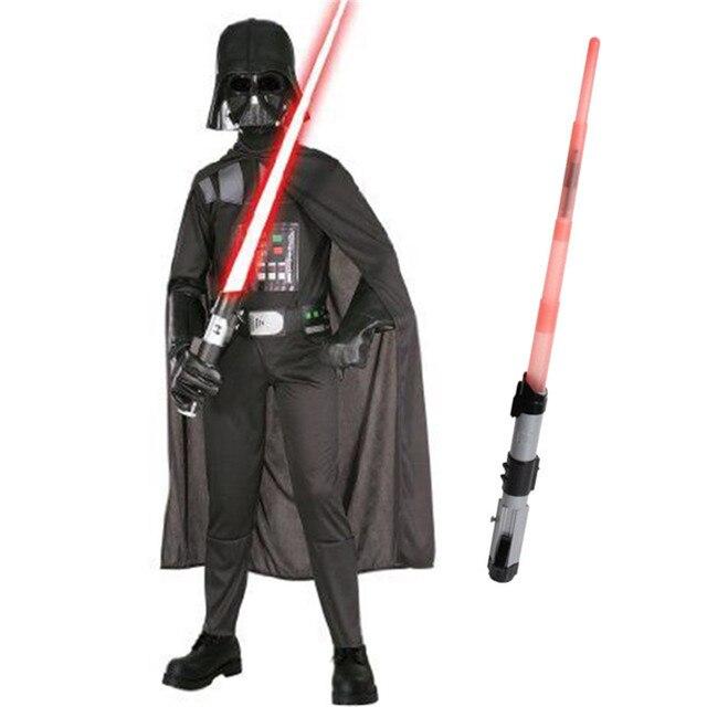 2018 Bambini Star Wars Darth Vader Costume Film Anakin Skywalker Storm  Trooper Set I Ragazzi di 0f08596bf180