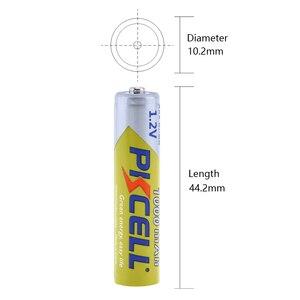 Image 2 - 12 ピース/ロット PKCELL ニッケル水素電池 AAA 1000mAh 1.2V ニッケル水素充電式バッテリー 3A 電池 Baterias カメラ懐中電灯用のおもちゃ