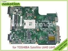 A000073390 DA0TE2MB6G0 REV G For toshiba satellite L640 L645 laptop motherboard intel HM55 HD graphics