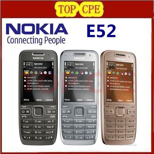 Original E52 Nokia Mobiles