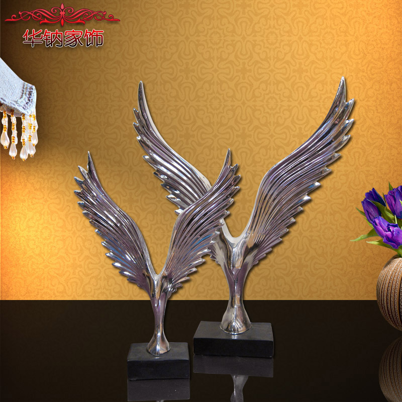 2016 special offer real home decoration accessories resin for Bird decorations for home
