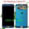 100% garantía de nuevo lcd para samsung galaxy e7 e7000 e700 pantalla lcd con pantalla táctil digitalizador reemplazo asamblea